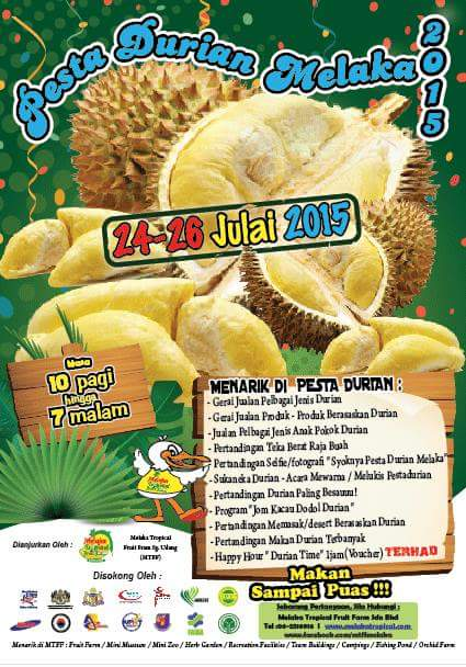 pesta durian melaka