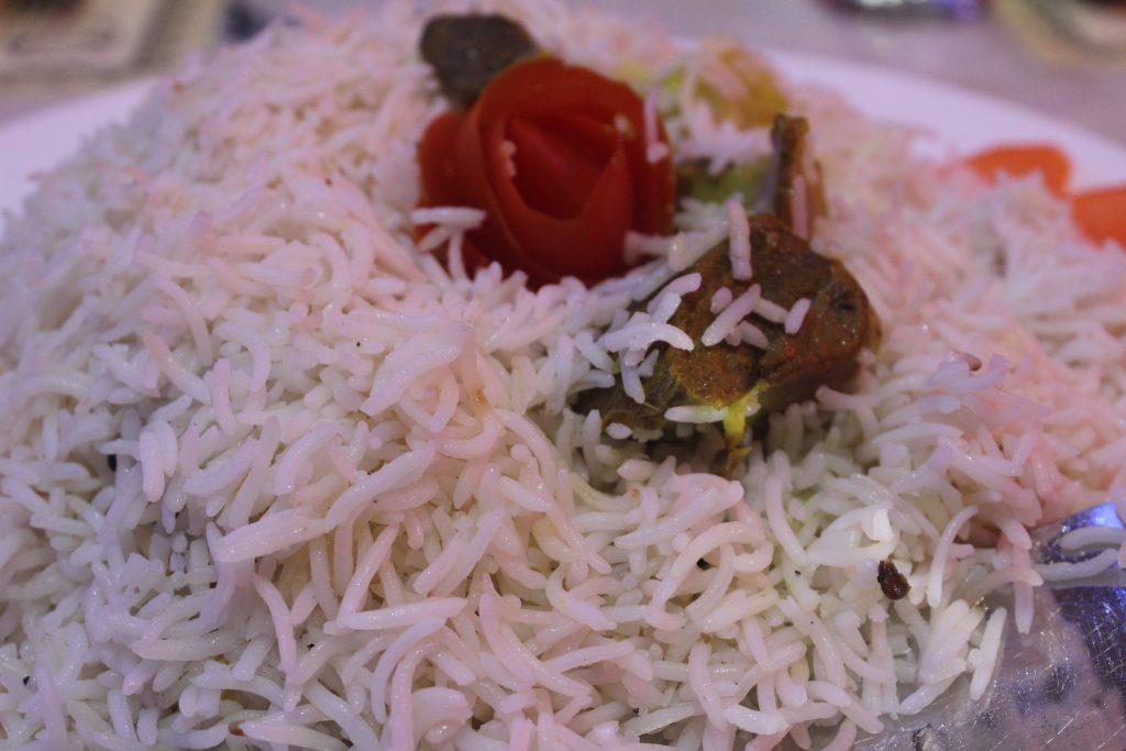 Nasi Arab Dalam Daging