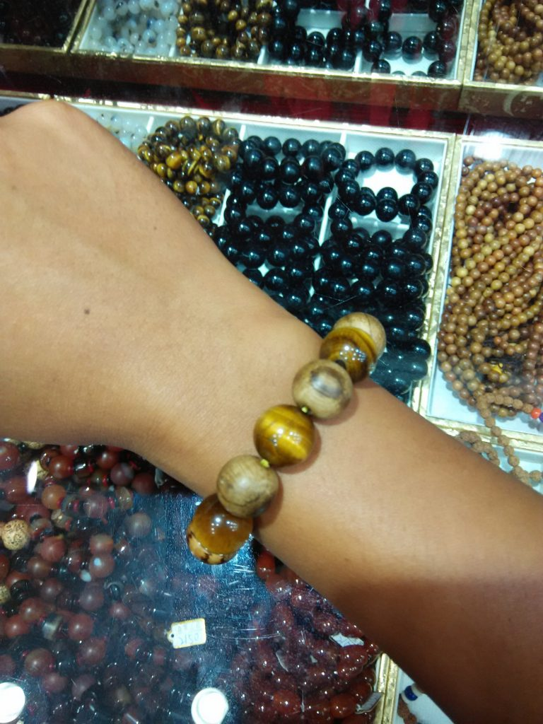 "gelang ""stone tiger eye"""