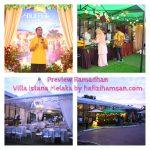 Promosi Buffet Ramadhan Di Villa Istana Melaka